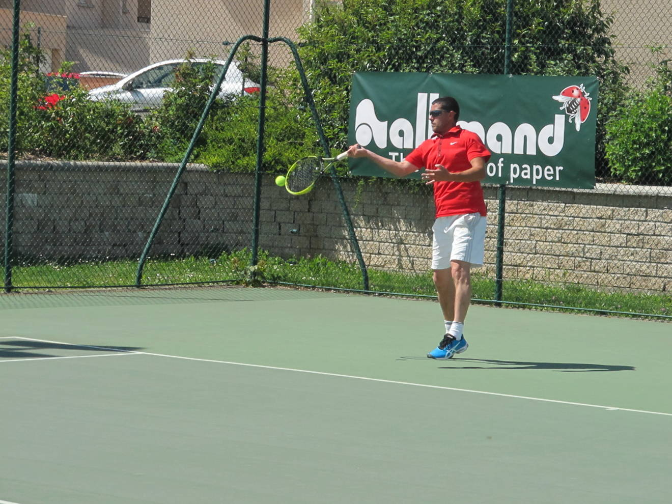 35 ans h finale laurent chaleyssin tc crossey 4 fco for Club de tennis interieur saguenay