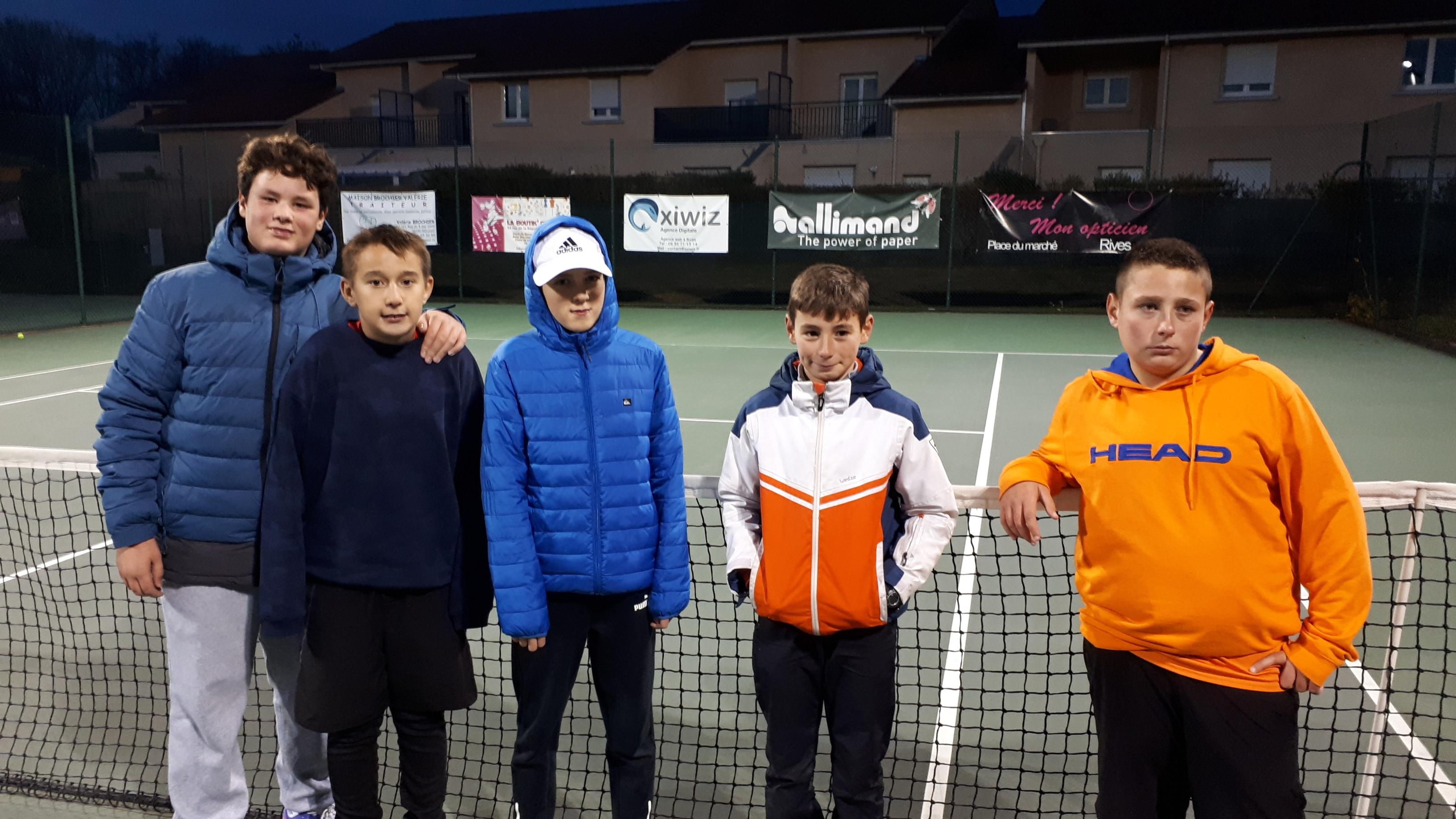 16a1f09a5bd4a7 Interclubs   encore deux équipes rivoises en lice – Tennis Club de Rives