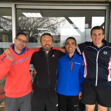 Interclubs : l'équipe hommes III vers la qualification