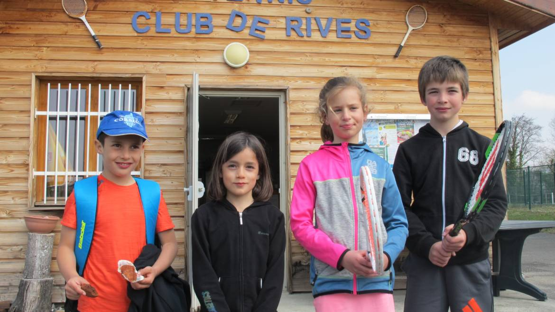 Interclubs jeunes : la saison des Rivois