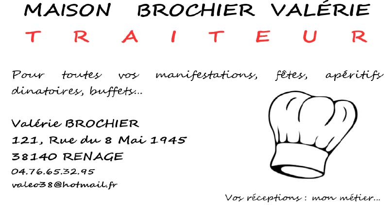 Brochier Traiteur