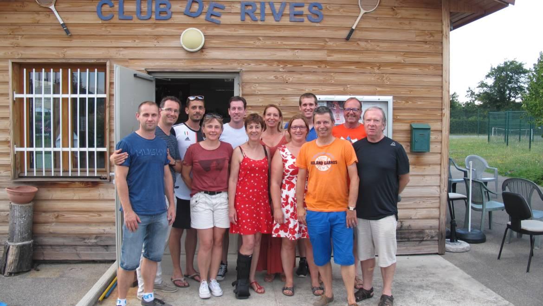 Le bureau du Tennis Club de Rives renouvelé