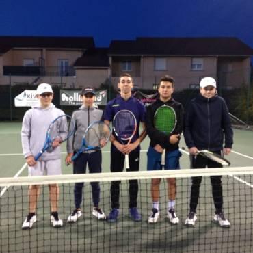 Interclubs : un joli samedi pour les jeunes Rivois au tennis