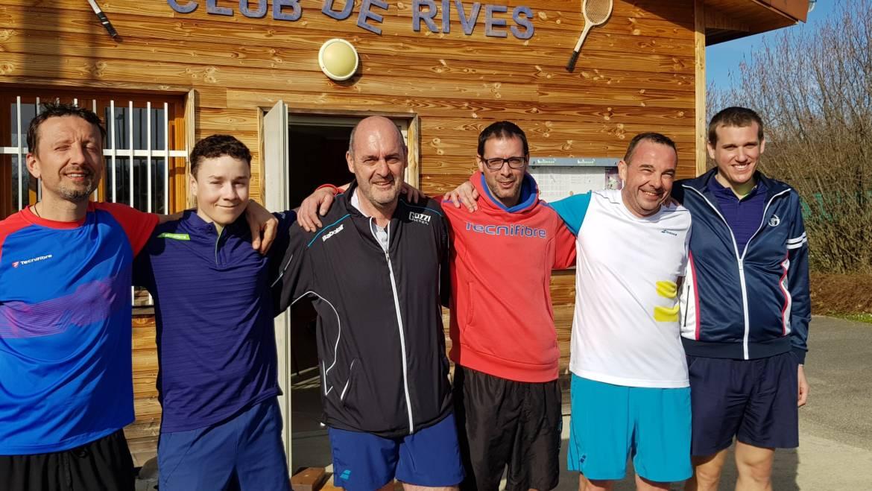Interclubs seniors 2020 : bons débuts du TC Rives