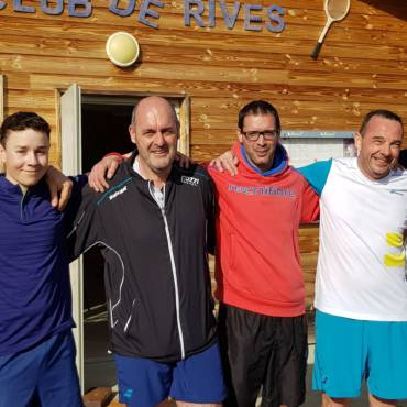 Interclubs seniors 2020 : bons débuts du TC Rives