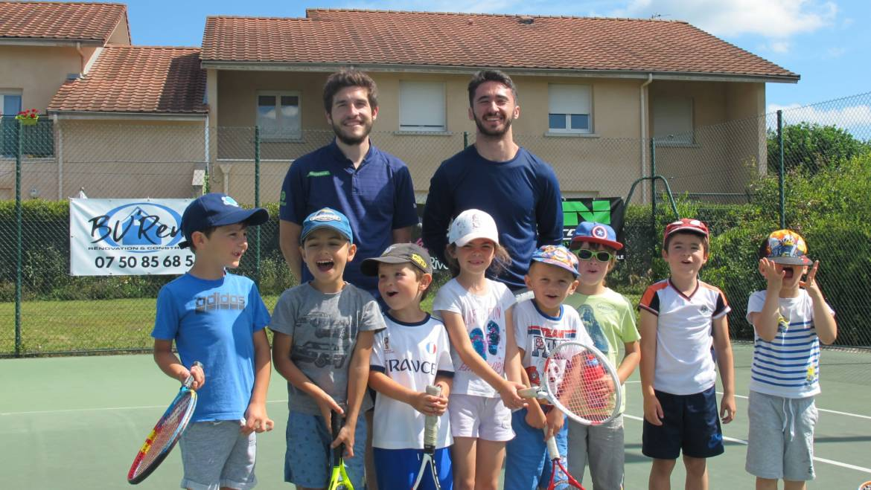 Le Tennis Club de Rives en vacances !
