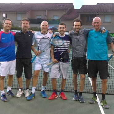 Rives – Moirans : une rencontre de tennis bien sympa