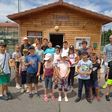Ecole de tennis : une fin de saison sous le signe du partage
