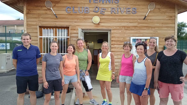 Le retour de la compétition au Tennis Club de Rives